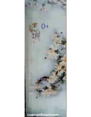 Kính hoa văn mẫu 07